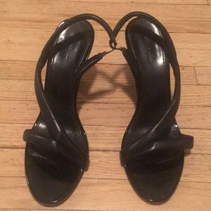 Celine leather kitten heels
